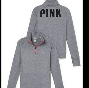 VS PINK Ultimate Half Zip